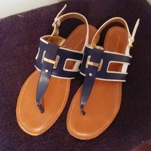 Tommy Hilfiger Slip on Sandals.